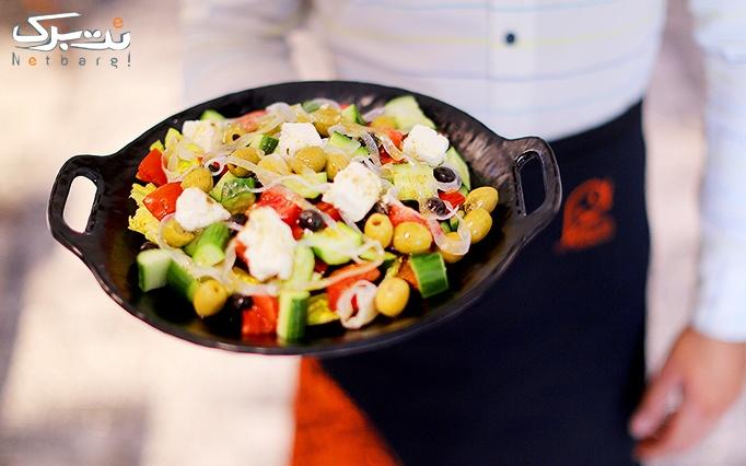 غذاهای فست فودی خوش طعم و متنوع در فست فود لُمِنز