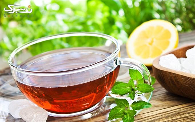 سفره خانه خاتون با انواع چای و دمنوش