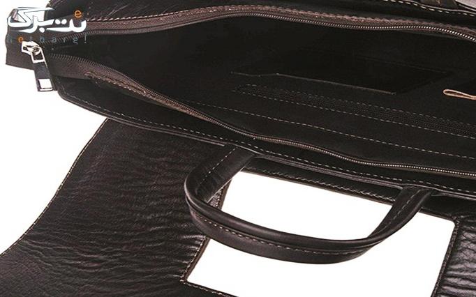 کیف اداری دو دسته قفل دار از گالری ماندگار