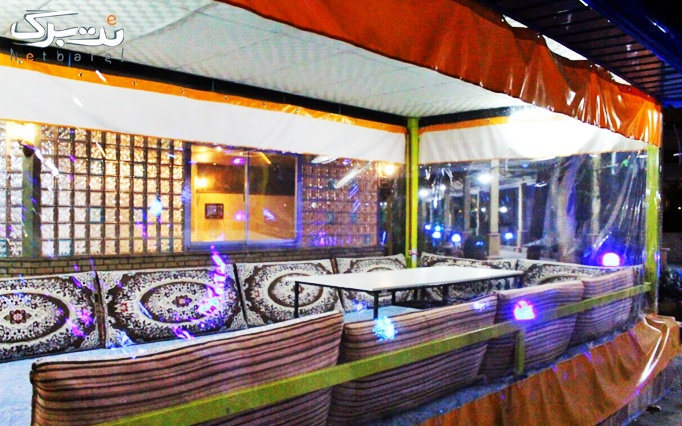 رستوران سنتی هتل توریست توس با منو انواع چلو