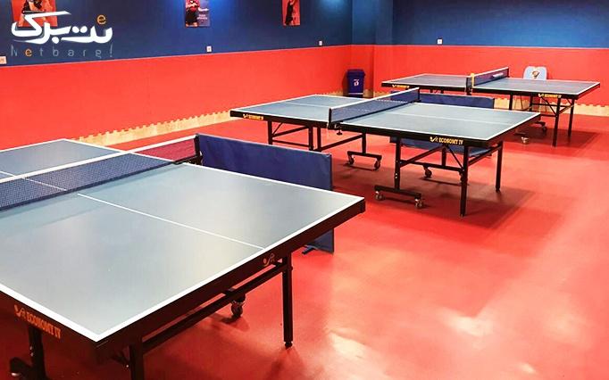 آموزش و بازی مفرح تنیس در مجموعه تنیس بهان