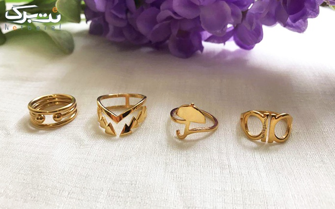 انگشترهای  استیل از زیورآلات نوژا گالری