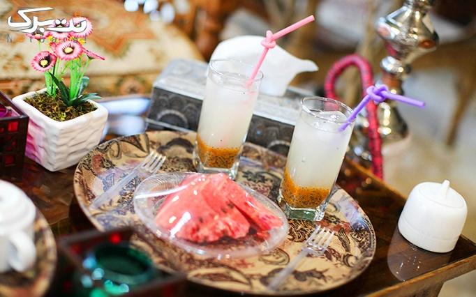 کافه متفاوت تیس تاس با انواع سرویس چای سنتی