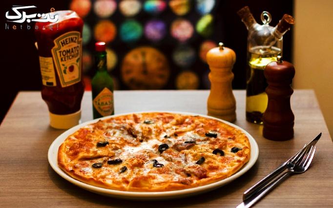 رستوران فرندز با منوی باز پیتزا، ساندویچ و پاستا