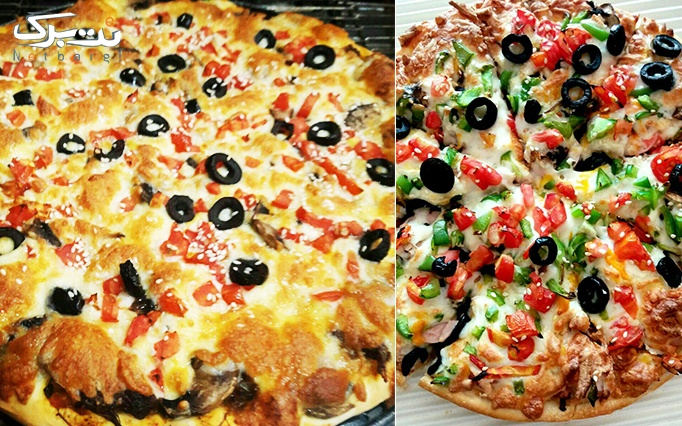پیچک فود با منو پیتزا، لازانیا و بشقاب داغ