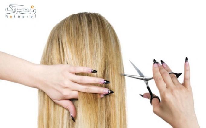 کوتاهی مو در آرایشگاه شادی آفرین