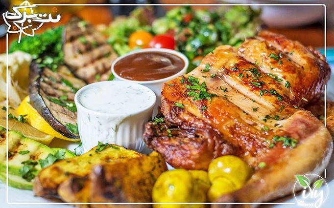 رستوران پیچک با پکیج پاستا و ساندویچ راویولی