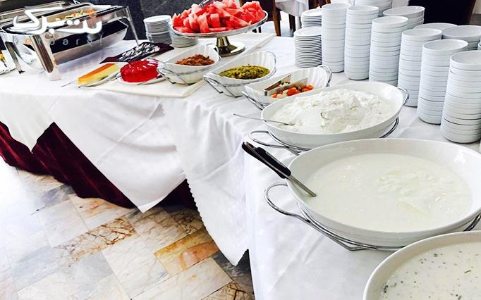 هتل تارا چهار ستاره تاپ با بوفه مجلل افطاری