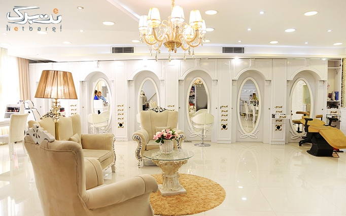 شینیون مو در سالن زیبایی سپیده