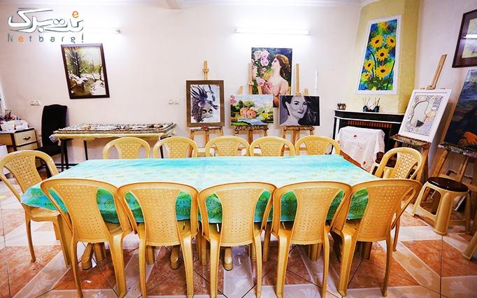 آموزش ساخت کتیبه گلی در آموزشگاه قلم جادویی