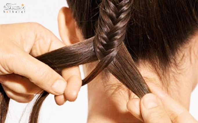 بافت مو شاخه ای در آرایشگاه تی تی