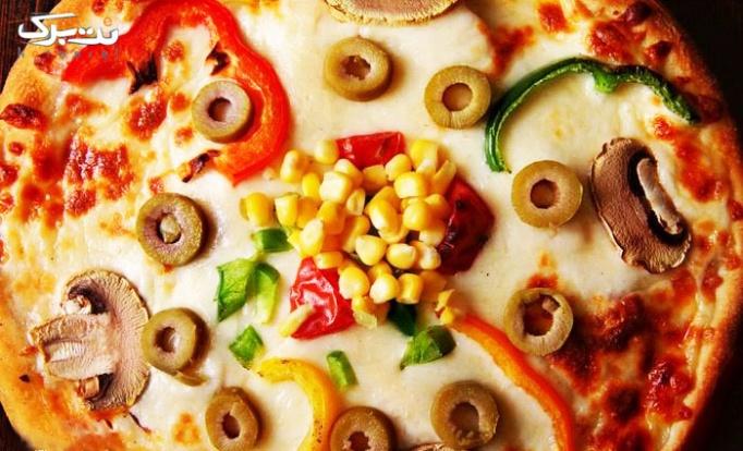 منو باز پیتزا در تهران برگر