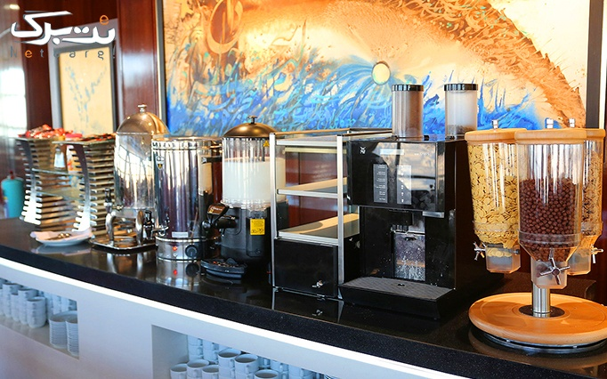 بوفه صبحانه رستوران گردان برج میلاد ویژه عید فطر