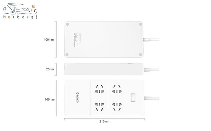 چهار راهی برق اوریکو ORICO HPC-4A5U-V1