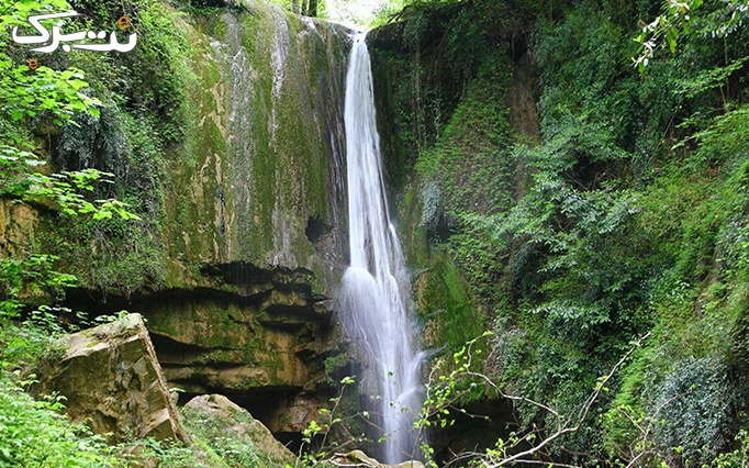 دریاچه لفور  و پل ورسک و هفت آبشار تیر کن
