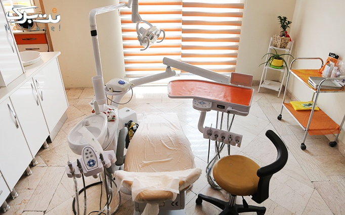 کاشت نگین دندان توسط دکتر طالع