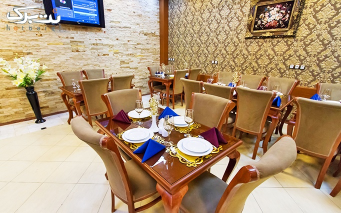 رستوران ماهان با منو باز غذای ایرانی