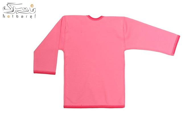 پیراهن آستین بلند ب.ب.میز طرح کیک MLZ16