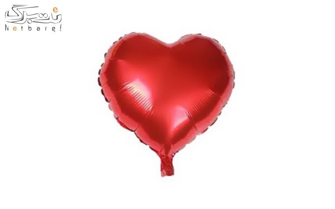 بادکنک هلیومی طرح  قلب