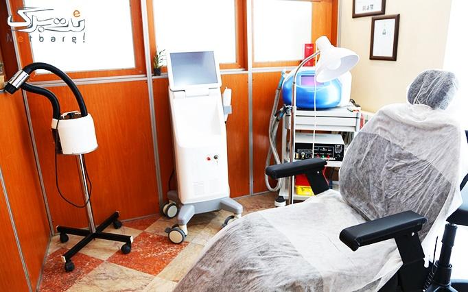 جوانسازی پوست صورت با RF در مطب دکتر تیموری
