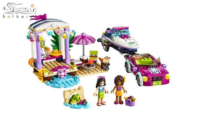 اسباب بازی لگو Andrea's Speedboat Transporter