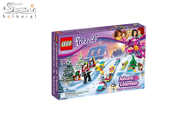 اسباب بازی لگو LEGO® Friends Advent Calendar