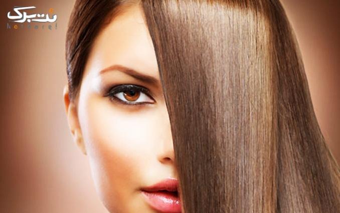 کوتاهی مو یا براشینگ مو در آرایشگاه بانو احمدی