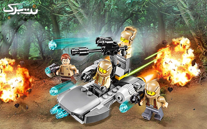 اسباب بازی لگو Lego Resistance Trooper Battle Pack