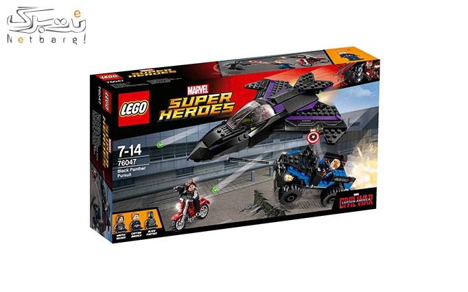 اسباب بازی لگو Lego Black Panther Pursuit