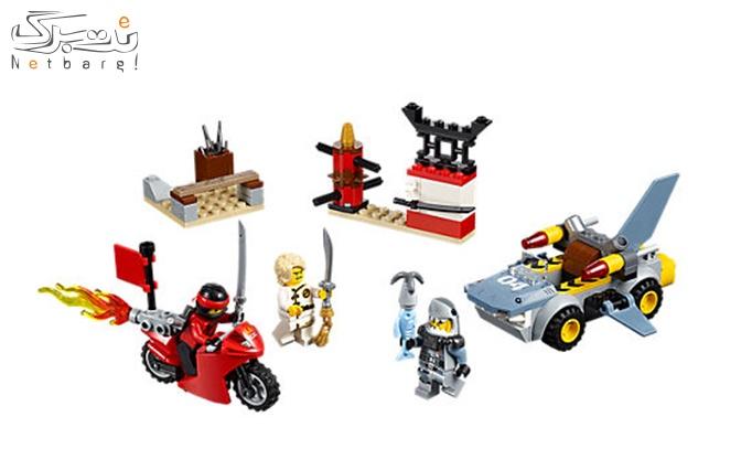 اسباب بازی لگو Lego Ninja Army Building set