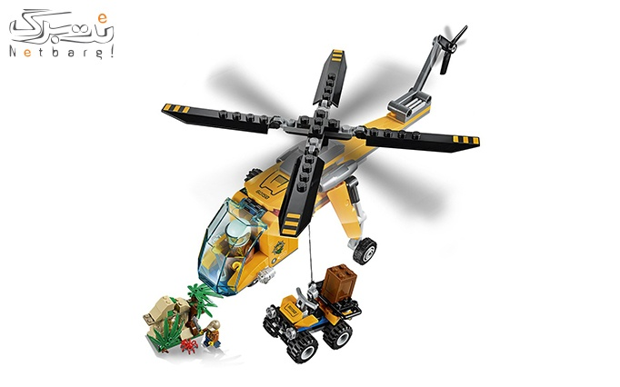 اسباب بازی لگو Lego Jungle Cargo Helicopter