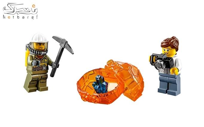 اسباب بازی لگو Lego volcano starter set