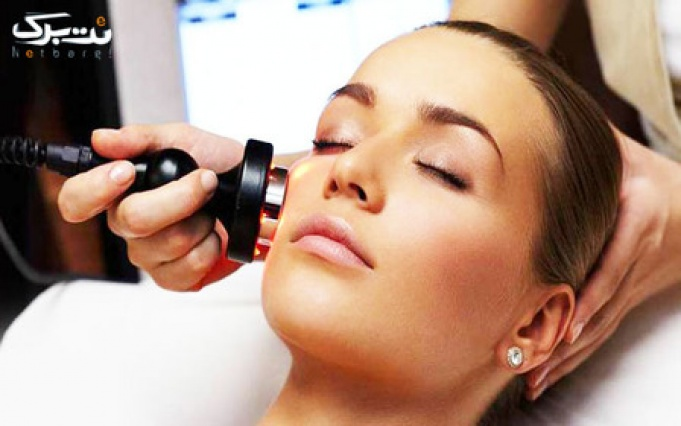 جوانسازی پوست صورت با RF در مطب دکتر طبرستانی