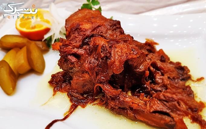 رستوران دارچین شاندیز با منو غذای ایرانی (چلو)