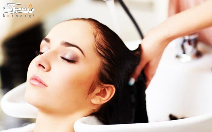 ویتامینه مو در مطب دکتر روحانی با دستگاه هیدرودرم