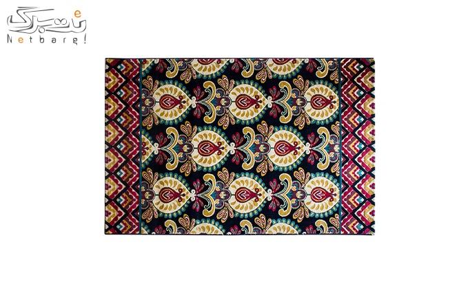 فرش ماشینی پاتریس طرح رایان رنگی