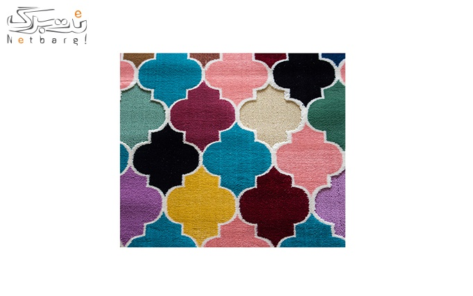 فرش ماشینی پاتریس طرح Ic200 رنگی