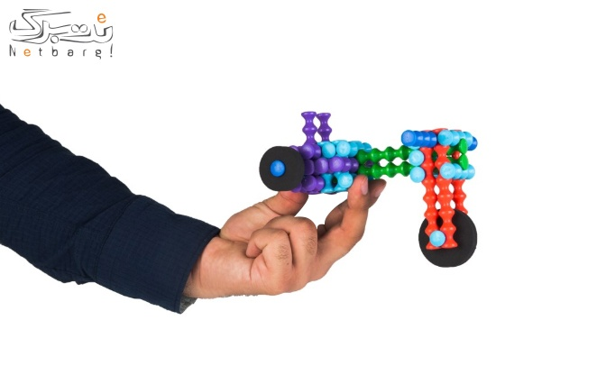 اسباب بازی ساختنی Mega Mil طرح موتور سه چرخ