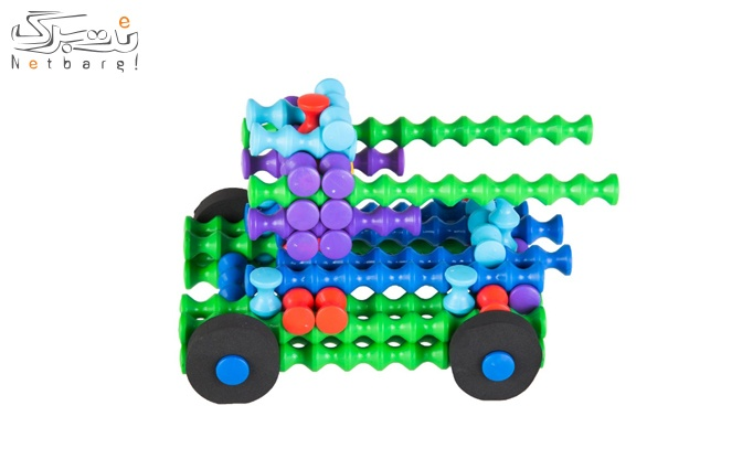اسباب بازی ساختنی تانک مدل Mega Mil