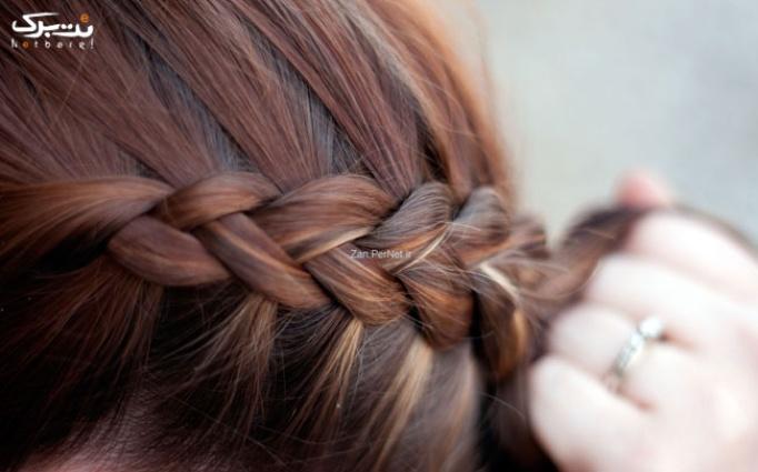 بافت و اکستنشن مو در سالن زیبایی سحر ناز