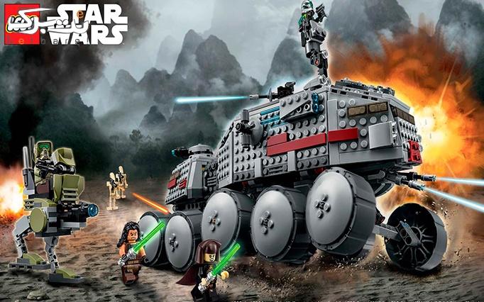 اسباب بازی لگو Clone Turbo Tank