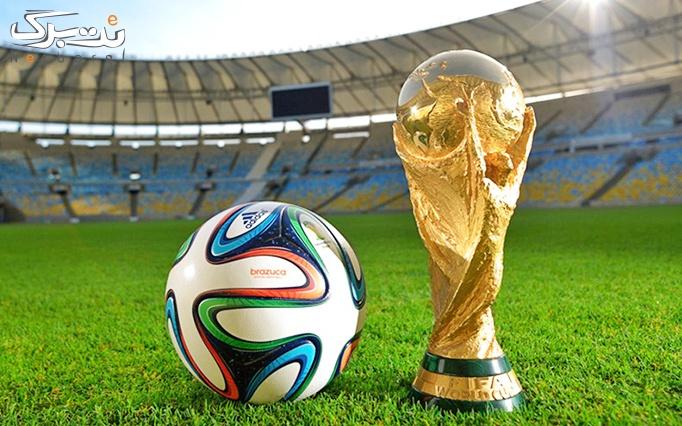 تماشای فینال جام جهانی در سالن همایش امام علی
