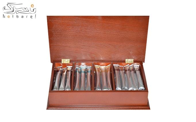 جعبه چای لوکس رابسین بسته 56 عددی