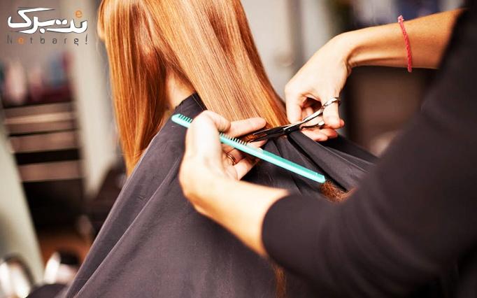 آموزش کوتاهی مو یا شنیون در محبوب خاتون