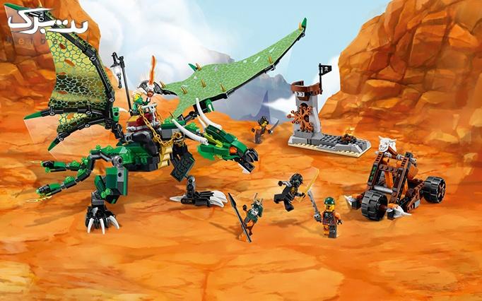 اسباب بازی لگو  The Green NRG Dragon