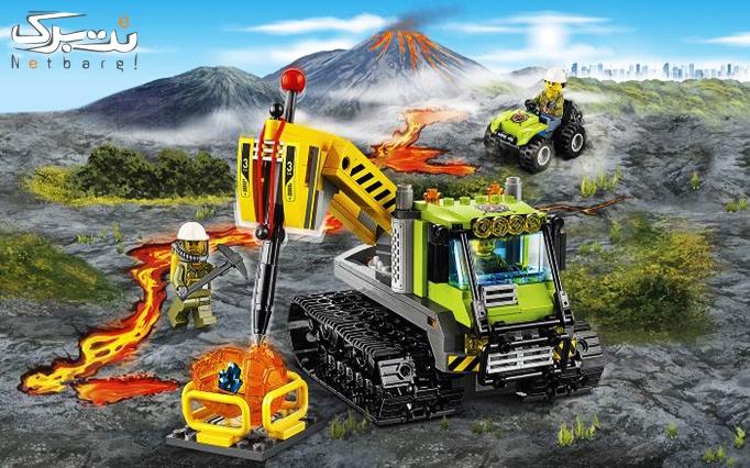 اسباب بازی لگو Volcano Crawler