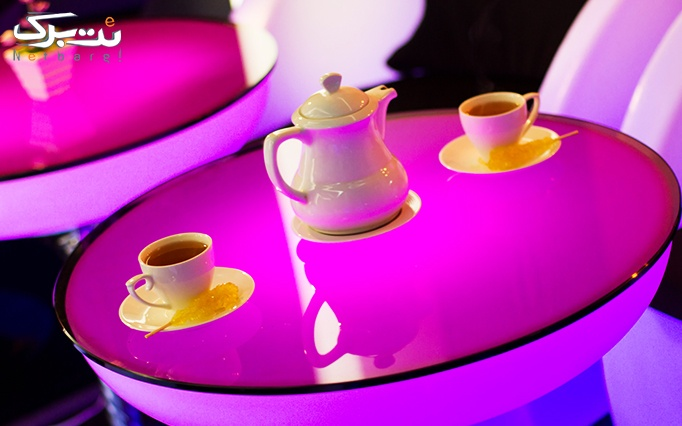 کافه امپراطور با سرویس چای سنتی عربی دو نفره