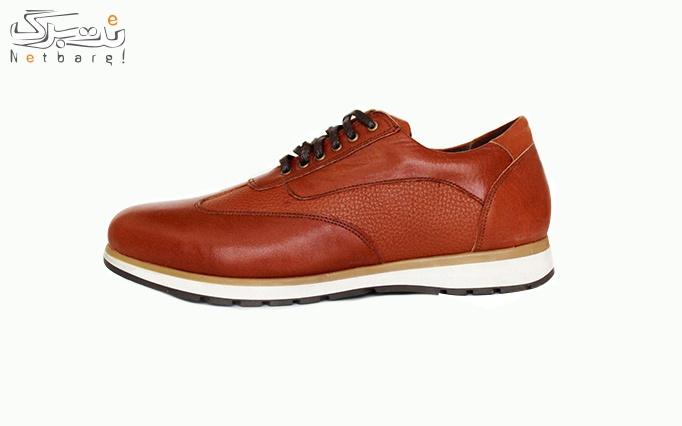 کفش چرم طبیعی مردانه پادوکاس مدل 5101