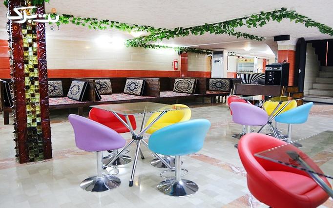 رستوران هتل خلیج با منو باز غذا و چای سنتی