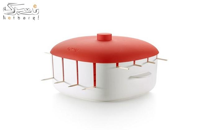 کباب پز مایکروفری دو طبقه